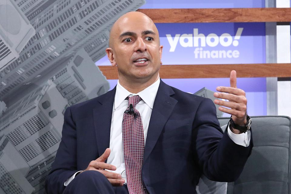 NEW YORK, NEW YORK - OCTOBER 10: Banker Neel Kashkari attends the Yahoo Finance All Markets Summit at Union West Events on October 10, 2019 in New York City. (Photo by Jim Spellman/Getty Images)