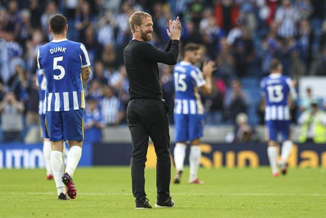 Graham Potter's side have won their opening two Premier League matches