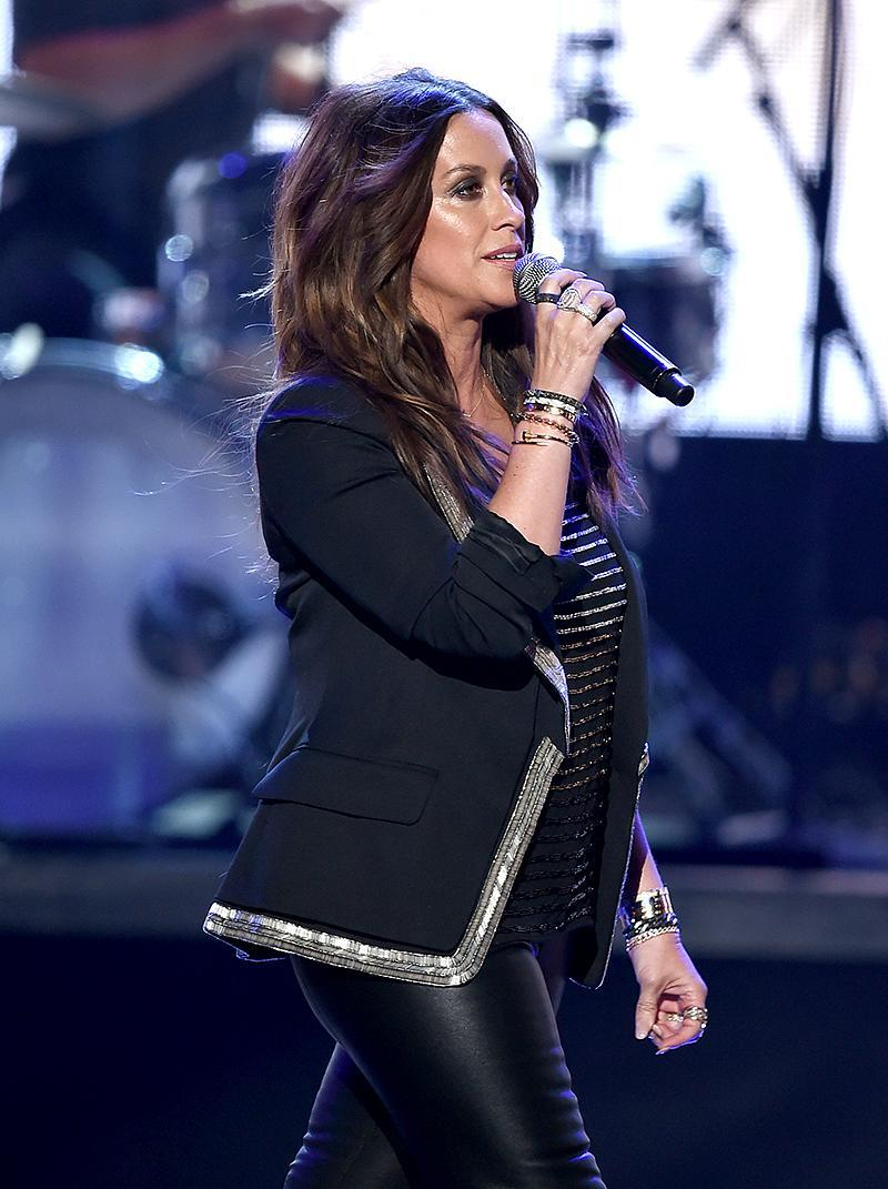 <p>Morissette, 42, is here mostly because of the success of her 1995 U.S. debut, Jagged Little Pill. That Grammy-winning blockbuster is certified for U.S. shipments of 16 million. (Photo: Kevin Winter/Getty Images) </p>