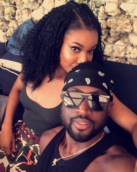 """<p>The Chicago Bulls' season is over, so Dwyane Wade has plenty of time to hang with his gorgeous wife. The <em>Being Mary Jane</em> star captioned this snap, """"Sundayzzzz."""" (Photo: Gabrielle Union via Instagram) </p>"""