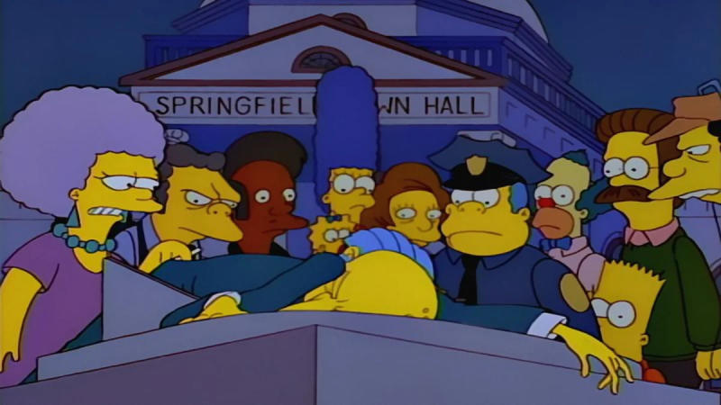 Josh Weinstein co-wrote classic 'Simpsons' episode 'Who Shot Mr Burns?'. (Credit: Fox)