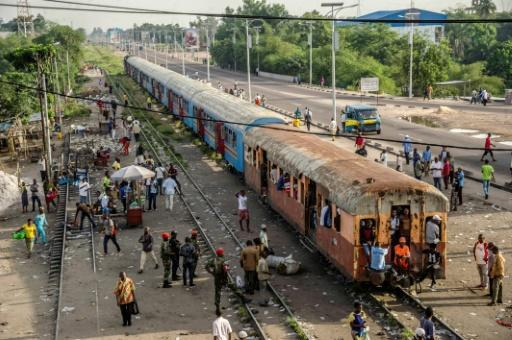 Railways in the DRC have a poor record for safety, hampered by derelict tracks and decrepit locomotives
