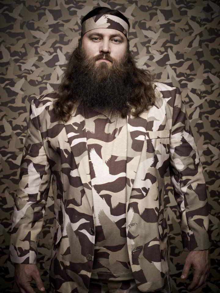"Willie Robertson of the A&E series ""Duck Dynasty."""