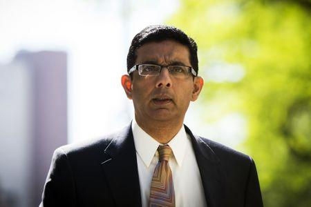 Trump pardons Dinesh D'Souza, conservative agitator who pleaded guilty to campaign finance fraud