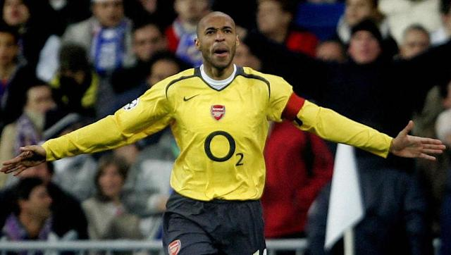 <p><strong>Number of Champions League goals: 50</strong></p> <br><p>Not just a scorer of many Champions League goals, but also of great ones. Henry first burst onto the European scene as a teenager with Monaco, with whom he netted seven goals in the 1997/98 campaign. </p> <br><p>The mercurial striker went on to become one of the world's best with both Arsenal and Barcelona, reaching the 50 milestone with ease.</p>