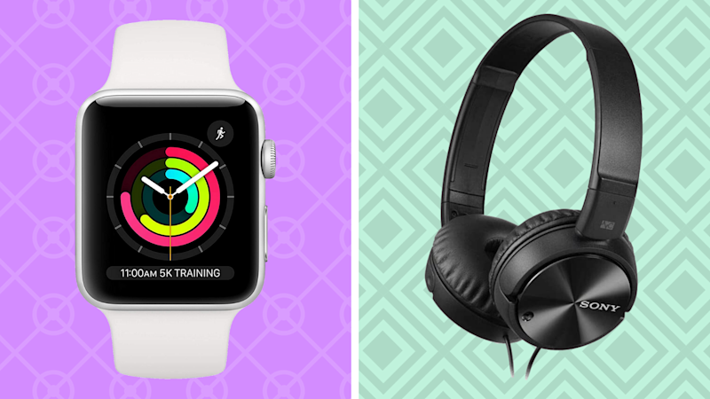 The best sales this weekend are right here—like save on Apple Watch Series 3 and Sony Noise-Canceling Headphones. (Photo: Amazon)