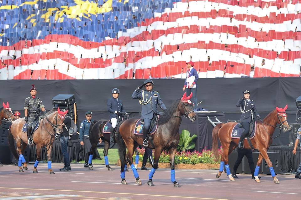 Some 14,885 personnel from 34 contingents took part in the National Day Parade at Putrajaya August 31,2019. — Pictures by Ahmad Zamzahuri