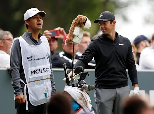 Golf - European Tour - BMW PGA Championship - Wentworth Club, Virginia Water, Britain - May 23, 2018 Northern Ireland's Rory McIlroy during the pro-am Action Images via Reuters/Paul Childs