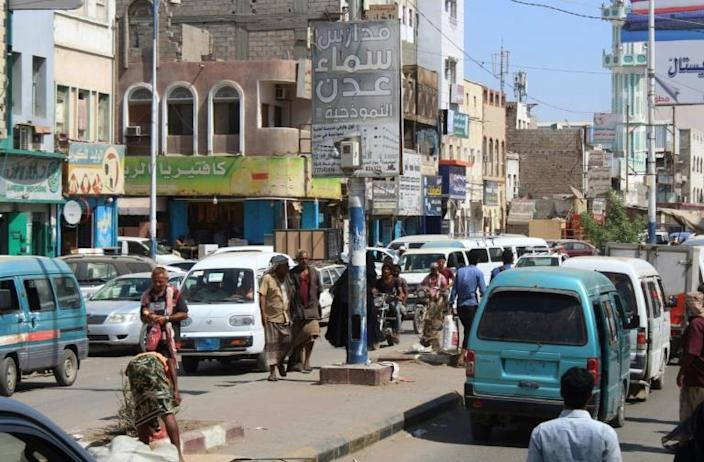 Yemen's central government made Aden (pictured) its de facto seat after being pushed out of Sanaa by Huthi rebels in 2014, but was then temporarily forced out by southern secessionists in August this year (AFP Photo/Saleh Al-OBEIDI)