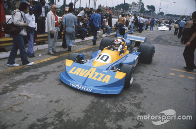 "Lella Lombardi, March 761 Ford, GP de Brasil 1976. <span class=""copyright"">LAT Images</span>"