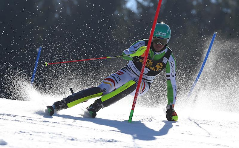 Neureuther leads German 1-2 finish at WCup slalom