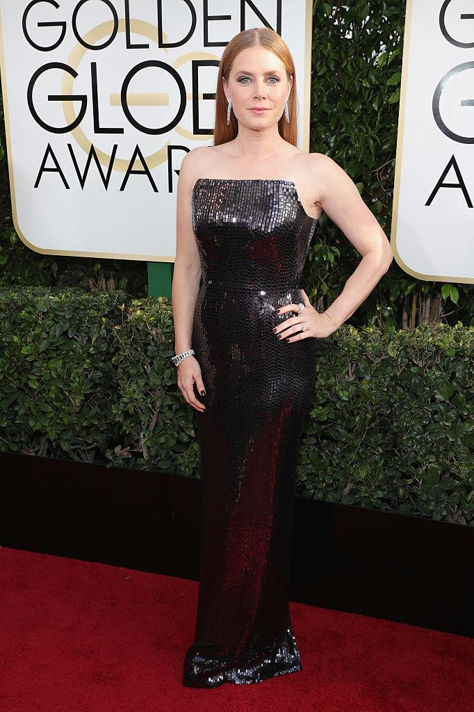Amy Adams in Tom Ford. (Photo: Getty Images)