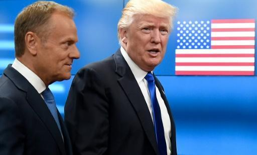EU's Tusk says no 'common position' on Russia with Trump