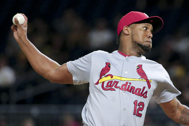 Juan Nicasio is heading to Seattle for two years. (AP Photo/Keith Srakocic)