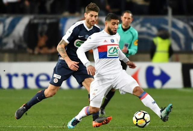 Nabil Fekir's 20th goal of the season sends Lyon through to the last eight of the French Cup