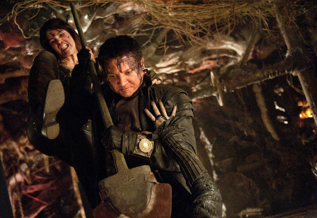 "Gemma Arterton and Jeremy Renner in ""Hansel & Gretel: Witch Hunters"" - 2013"