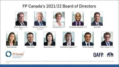 FP Canada 2021/22 Board of Directors (CNW Group/FP Canada)