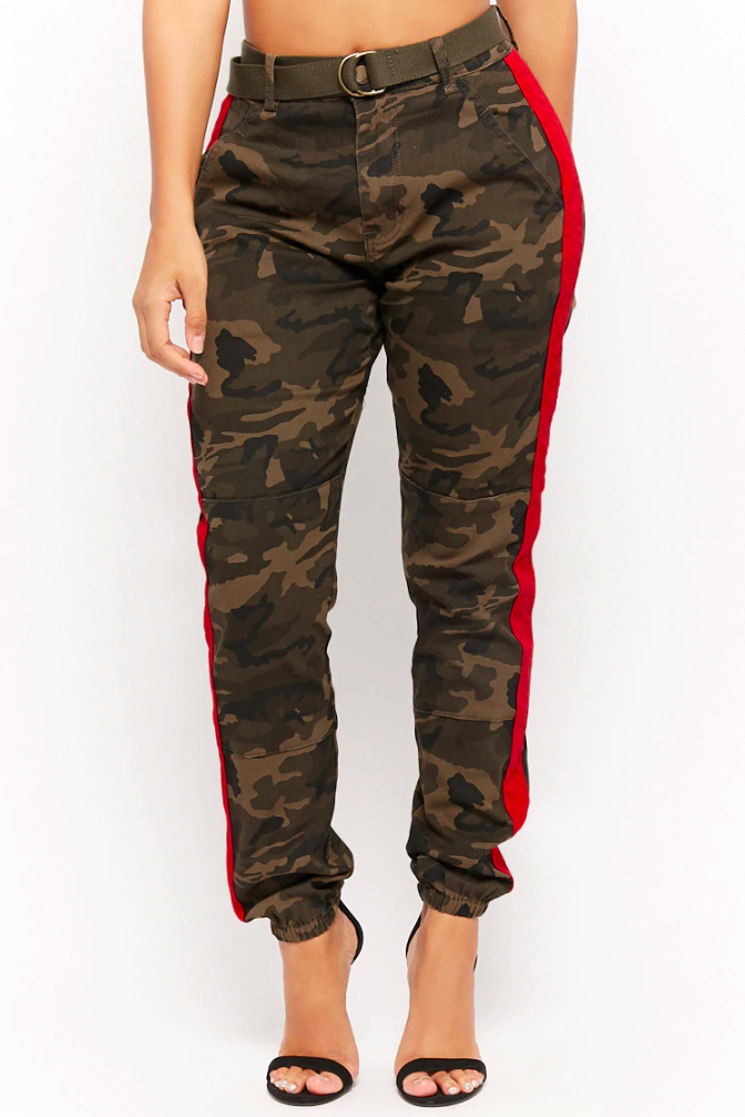 Forever 21 Side-Stripe Camo Pants, $35 (Photo: Forever 21)