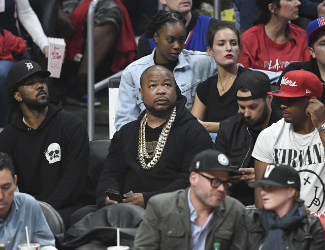 Rapper and actor Xzibit attends the basketball game between Los Angeles Clippers and Golden State Warriors during Game Six of Round One of the 2019 NBA Playoffs at Staples Center on April 26, 2019 in Los Angeles, California. (Photo by Kevork S. Djansezian/Getty Images)