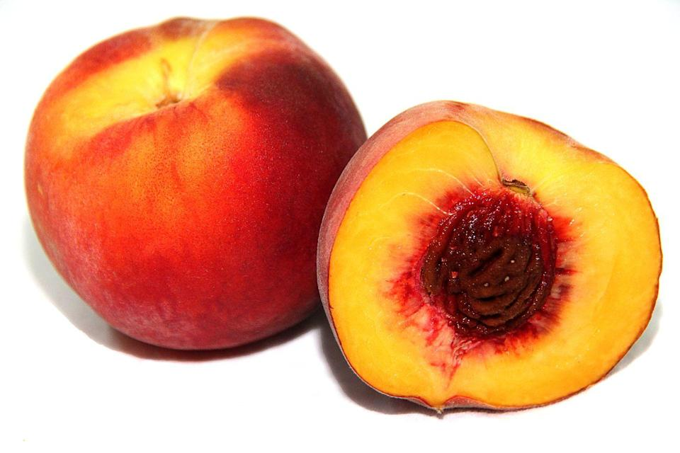 <p>Any and all peaches, nectarines, apricots, etc. can go on your countertop when you need them to ripen a bit. That said, once they're at your desired stage of ripeness, they can definitely stand to sit in your fridge. </p>