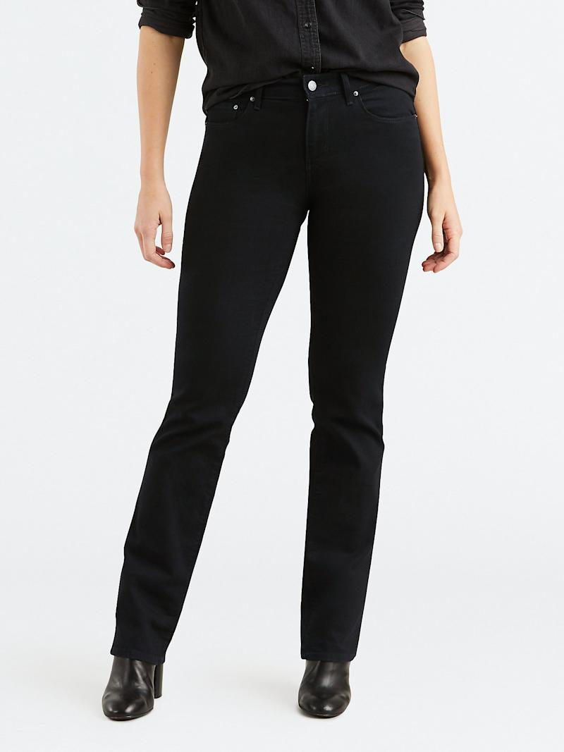 Levi's Women's 505 Straight Jeans. (Photo: Walmart)