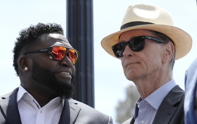 Red Sox owner John Henry has expressed a desire to change the name of Yawkey Way. (AP Photo/Charles Krupa, File)