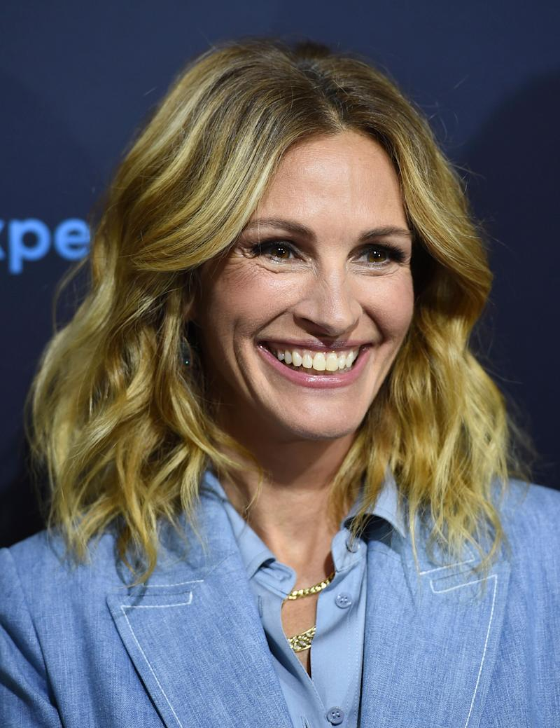 "Julia Roberts says that ""Game of Thrones"" is ""for sure"" not for her. (Photo: Jordan Strauss/Invision/AP)"