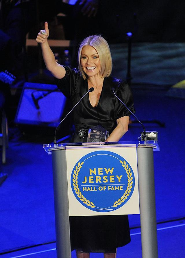 <p>The talk show host and Camden County native was among the 15-member class inducted into the New Jersey Hall of Fame. (Photo: Bobby Bank/Getty Images) </p>