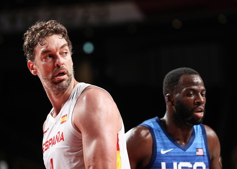 Pau Gasol in a moment of the quarterfinal match against the United States in which Spain has been eliminated.  (Photo: Elif Ozgoncu Ozturk / Anadolu Agency / Getty Images).