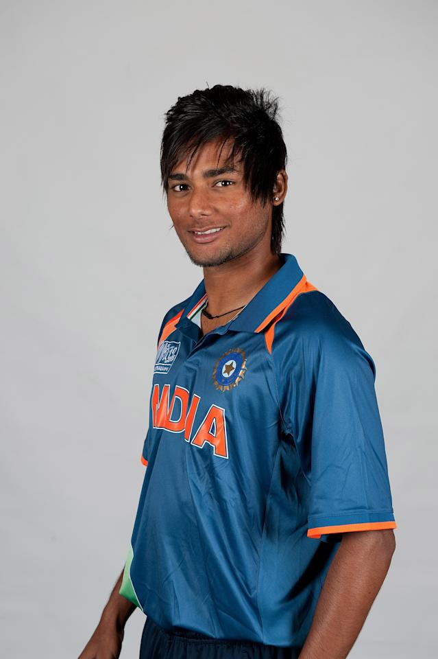 BRISBANE, AUSTRALIA - AUGUST 06:  Kamal Passi of India poses during a ICC U19 Cricket World Cup 2012 portrait session at Allan Border Field on August 6, 2012 in Brisbane, Australia.  (Photo by Matt Roberts-ICC/Getty Images)