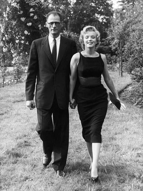 <p>Monroe and Miller, a Pulitzer prize-winning playwright best known for his play <em>Death of a Salesman</em>, met in 1950 at a party, then again when Monroe moved to New York in 1955. They began an affair while she was still married to DiMaggio. They married on June 29, 1956 but divorced in 1961 after a few rocky years, including two miscarriages and an ectopic pregnancy.</p>