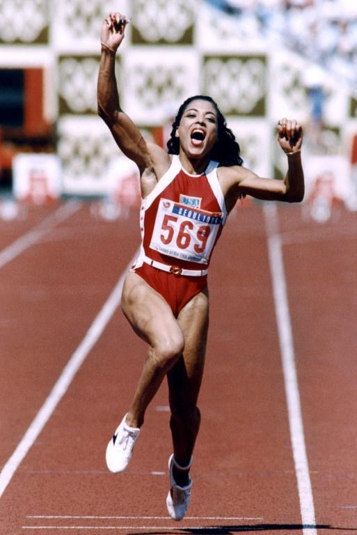American Florence Griffith Joyner or 'Flo Jo' sparked lots of rumours about her improved performances in her stunning double in the 100m and 200m at the drug-tainted Seoul Olympics in 1988 but unlike Ben Johnson she never tested positive