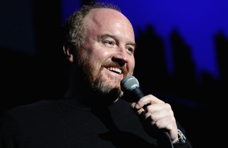 Louis CK performs at The New York Comedy Festival: Monica Schipper/Getty for New York Comedy Festival