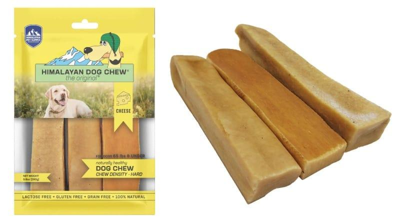 These yak chews are all natural and low-odor.