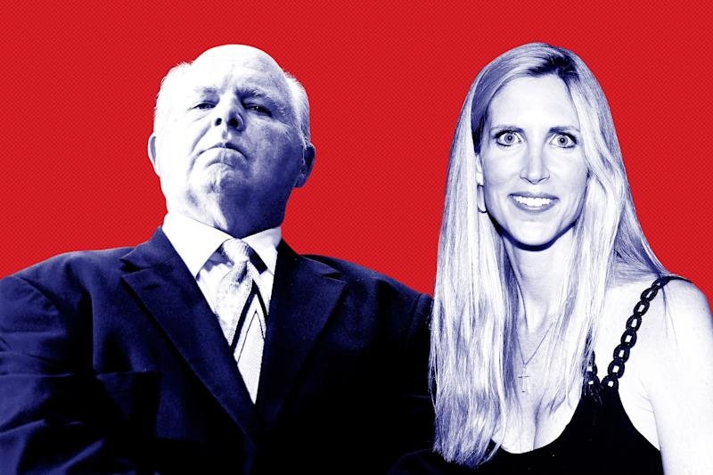 How Rush Limbaugh and Ann Coulter Goaded Trump Closer to a Government Shutdown