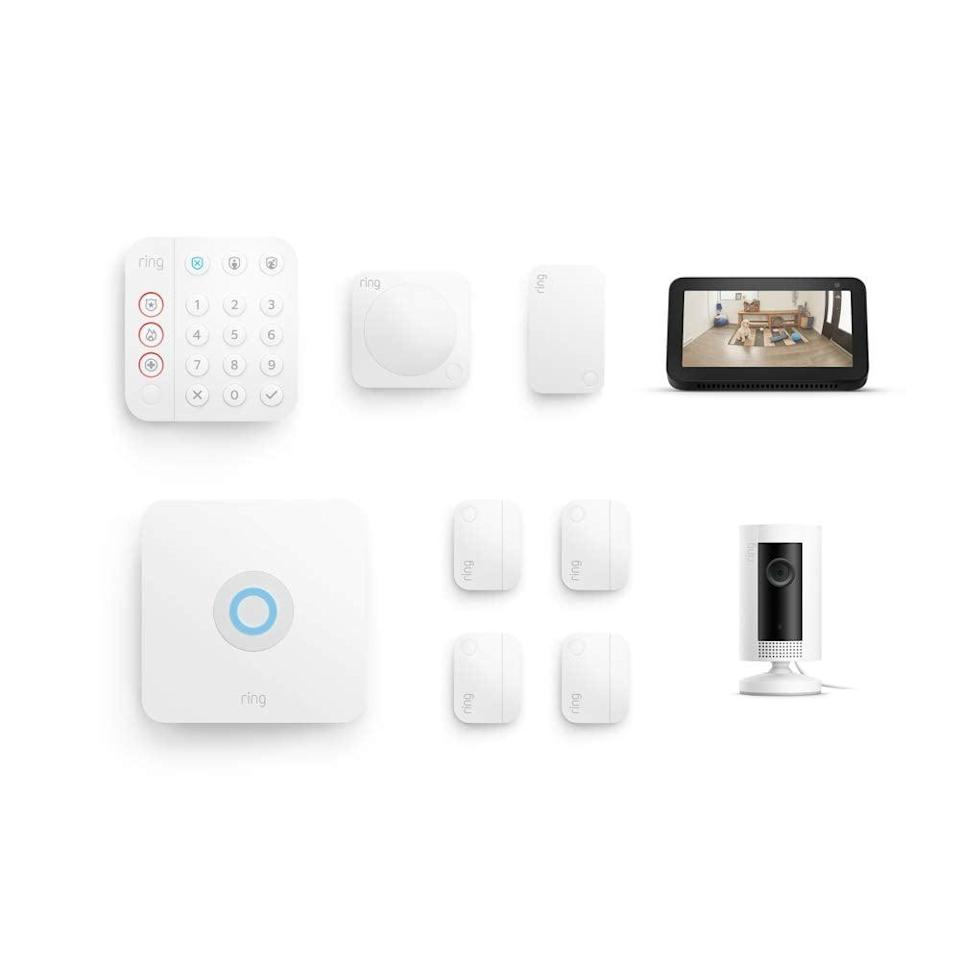 <p><span>Ring Alarm 8-piece kit (2nd Gen) with Ring Indoor Cam and Echo Show 5</span> ($260 originally $390)</p>