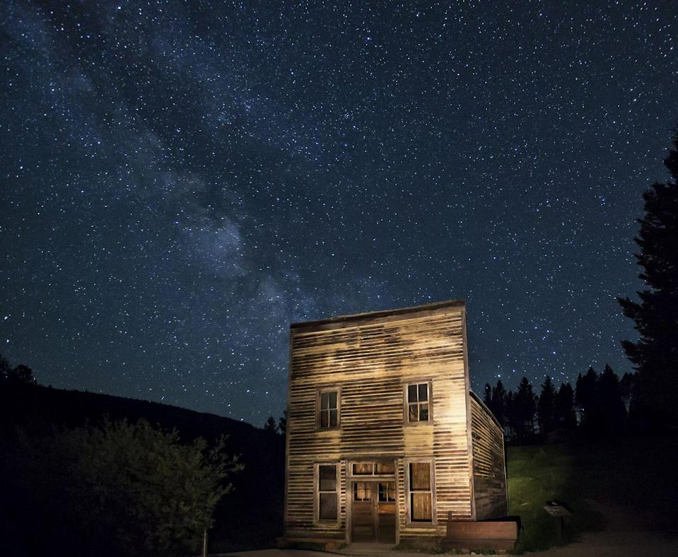 """<p><strong>Garnet Ghost Town - Drummond, MT</strong></p><p>One of Montana's most prominent ghost towns from the turn of the 20th century is also of the most well-preserved, but visitors who wander through the former mining town <a href=""""https://www.legendsofamerica.com/mt-garnet/"""" rel=""""nofollow noopener"""" target=""""_blank"""" data-ylk=""""slk:might experience"""" class=""""link rapid-noclick-resp"""">might experience</a> more than their fair share of supernatural activity. <br></p><p>Photo: Flickr/<a href=""""https://www.flickr.com/photos/mypubliclands/15018371394/in/photolist-97CbTe-97FiNf-97FomG-97CcFK-pjxLsR-97FiQJ-97Fk7E-97Ch92-XpNf7T-97CfhR-97Cbkp-97FgFo-97Fnfu-pEgwzZ-pB3JKM-oT85zQ-2HepKT-GrpkRa-xiMRWb-77yGk-8XZsD3-K9HfDR-JdfSY1-xB1V3g-wDoHfy-Czsc3e-zAzaNc-CErRQG-CfCbmY-JdfSjq-K6G9j7"""" rel=""""nofollow noopener"""" target=""""_blank"""" data-ylk=""""slk:Bureau of Land Management"""" class=""""link rapid-noclick-resp"""">Bureau of Land Management</a></p>"""