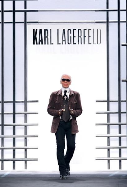 Karl Lagerfeld also had his own label
