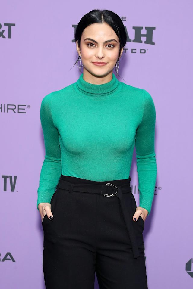 """<p>After <a href=""""https://www.popsugar.com/celebrity/camila-mendes-and-charles-melton-break-up-46976268"""" class=""""ga-track"""" data-ga-category=""""Related"""" data-ga-label=""""http://www.popsugar.com/celebrity/camila-mendes-and-charles-melton-break-up-46976268"""" data-ga-action=""""In-Line Links"""">splitting from <strong>Riverdale </strong>costar Charles Melton</a> late last year, it appears that Camila is currently single.</p>"""