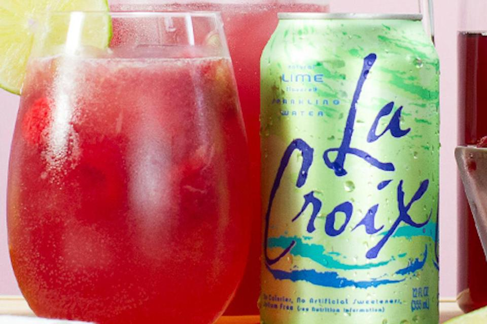 """<p>This mocktail gives your cranberry juice an even more acidic, tart twist by mixing it with lime juice and lime-flavored sparkling water.</p> <p><a href=""""https://www.thedailymeal.com/recipes/cran-lime-mocktail-lacroix?referrer=yahoo&category=beauty_food&include_utm=1&utm_medium=referral&utm_source=yahoo&utm_campaign=feed"""" rel=""""nofollow noopener"""" target=""""_blank"""" data-ylk=""""slk:For the Cran-Lime Mocktail recipe, click here."""" class=""""link rapid-noclick-resp"""">For the Cran-Lime Mocktail recipe, click here.</a></p>"""