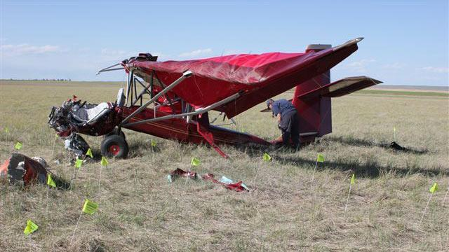 Man Killed in Homemade Plane Crash