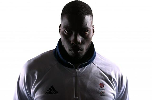 Lawrence Okolie will compete for Great Britain in the heavyweight division. (Getty)