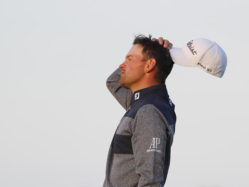 NORTH BERWICK, SCOTLAND - JULY 14: Bernd Wiesberger of Austria celebrates victory during the final round of the Aberdeen Standard Investments Scottish Open at The Renaissance Club on July 14, 2019 in North Berwick, United Kingdom. (Photo by Kevin C. Cox/Getty Images)