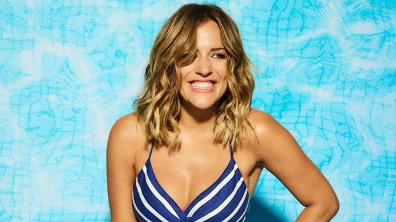 Caroline Flack has stepped down as the host of 'Love Island'.(ITV)