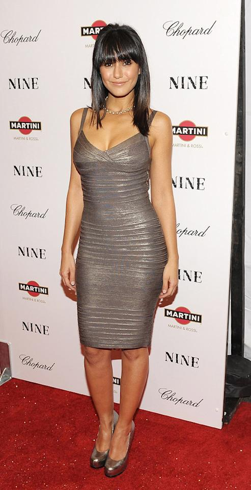 """<a href=""""http://movies.yahoo.com/movie/contributor/1800353397"""">Emmanuelle Chriqui</a> at the New York City screening of <a href=""""http://movies.yahoo.com/movie/1810053986/info"""">Nine</a> - 12/15/2009"""