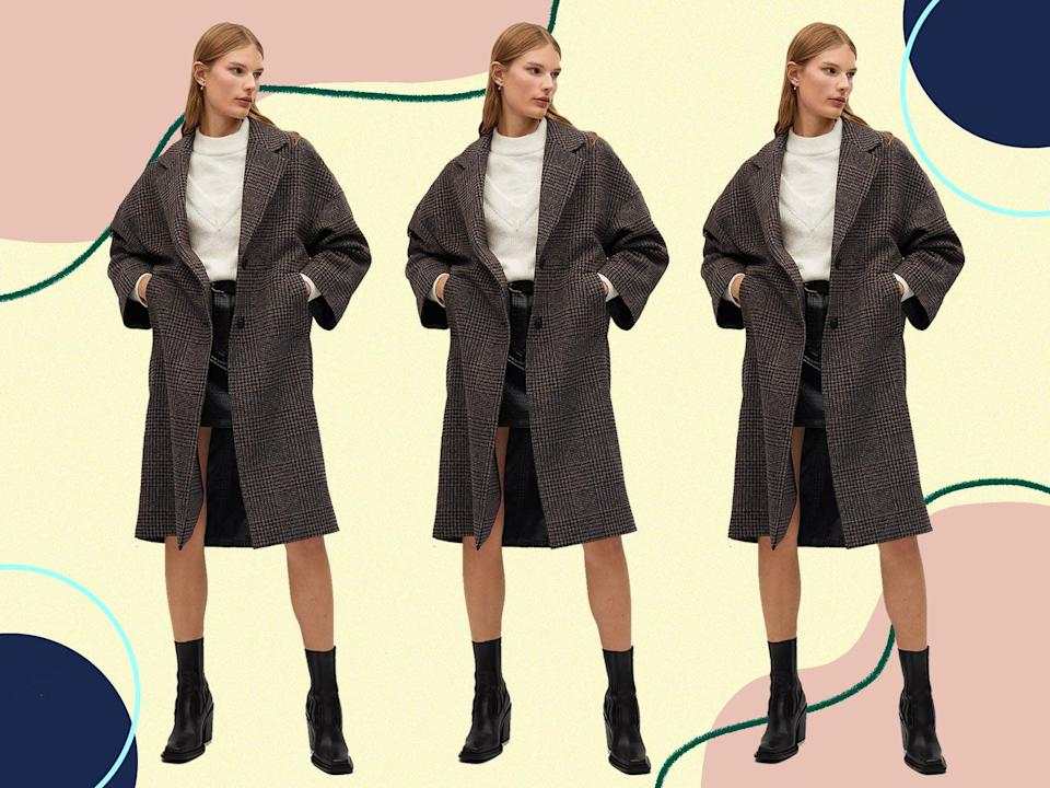 <p>Does the sought after brown check number live up to the hype?</p> (Mango)