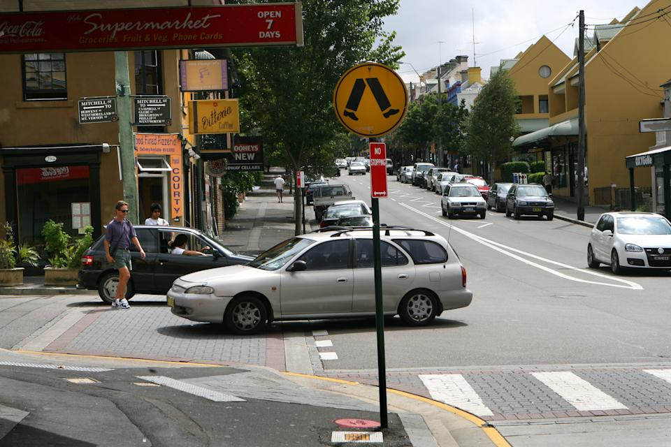 Pedestrian crossing shown as mobility scooter road rules revealed.