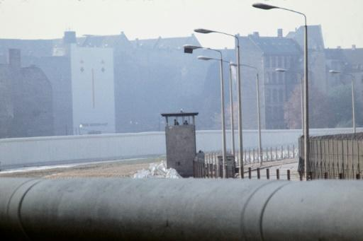 The Berlin Wall, pictured here in 1976, is the best known part of the Iron Curtain that separated communist Eastern Europe from the West