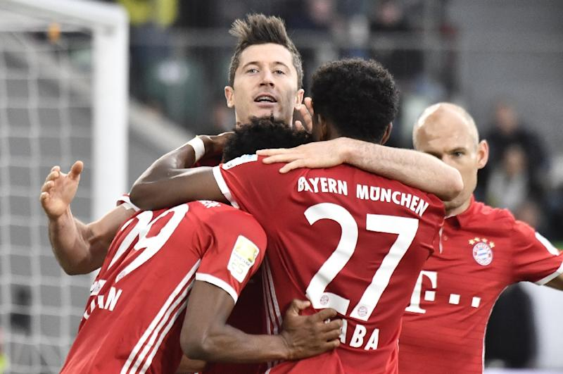 Bayern Munich wins record fifth straight Bundesliga title