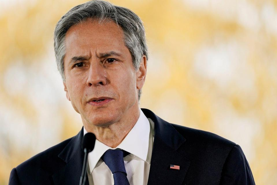 US Secretary of State Antony Blinken has maintained the US position that China's abuses of Uygurs in the Xinjiang region constitute genocide. Photo: Reuters